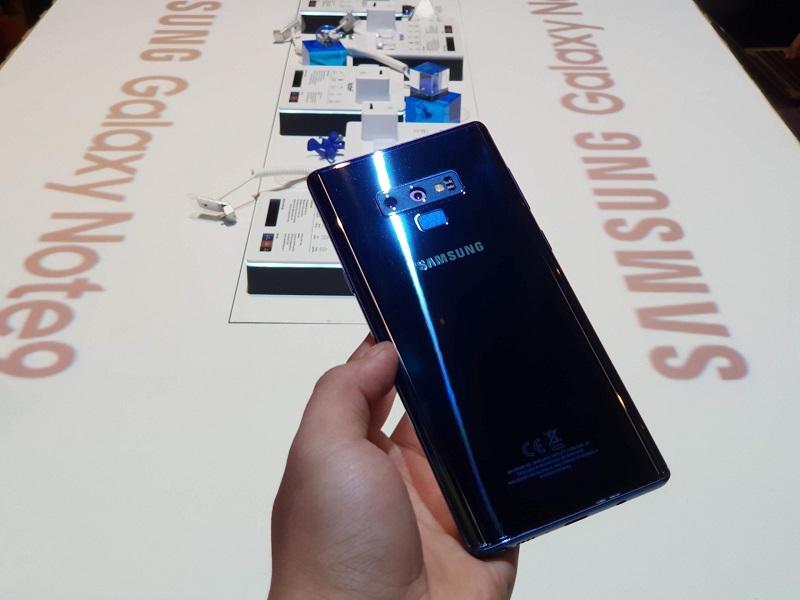 Samsung galaxy note 9 đánh giá thiết kế