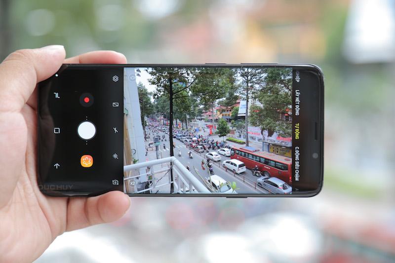 Samsung galaxy s9 plus đánh giá camera
