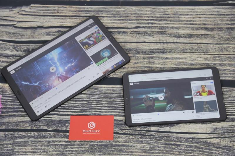 so sánh xiaomi mi pad 4 và mi 4 plus màn hình