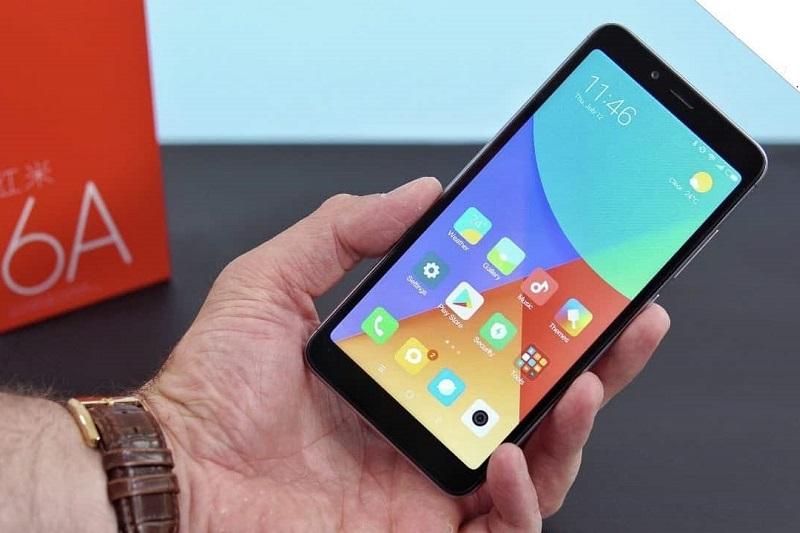 top 4 smartphone 2 triệu xiaomi redmi 6a màn hình