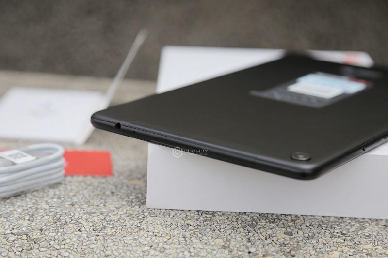 xiaomi mi pad 4 plus mở hộp, cạnh trên