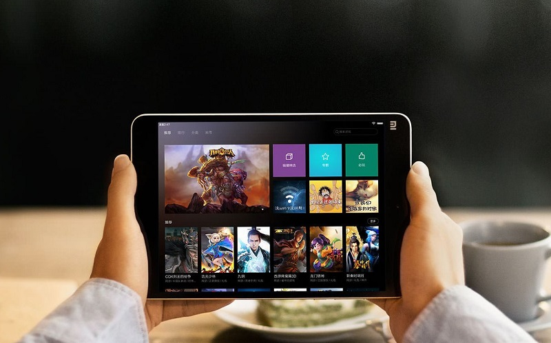 Xiaomi Mi Pad 4 màn hình