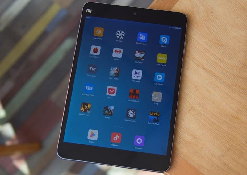 Xiaomi Mi Pad 4 thiết kế