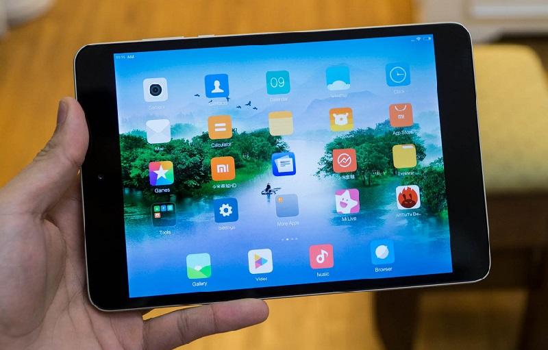 xiaomi mi pad 4 đánh giá màn hình