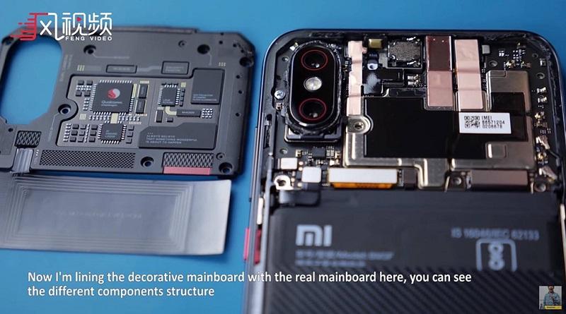 xiaomi mi8 ee bảng mạch camera giả