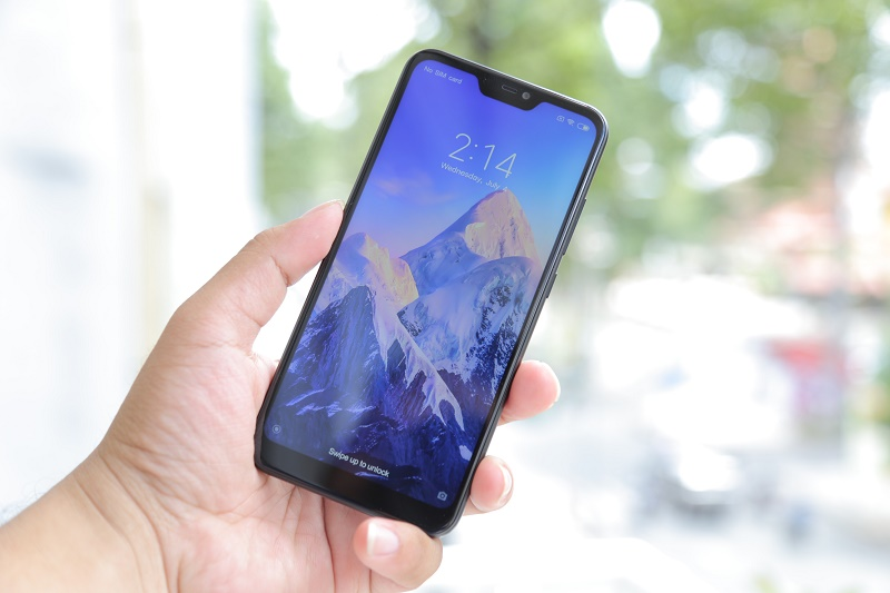 xiaomi redmi 6 pro đánh giá mới màn hình