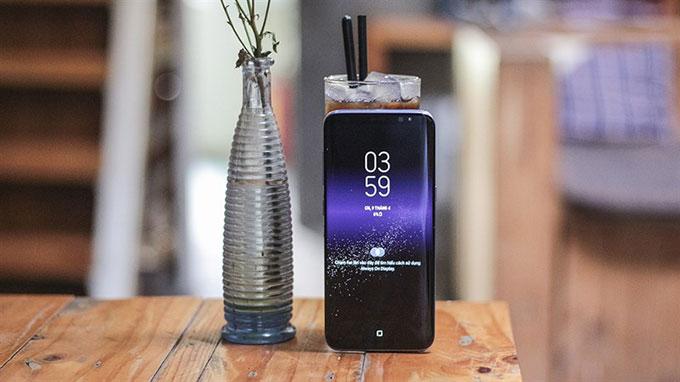 Samsung Galaxy S8 cũ 4