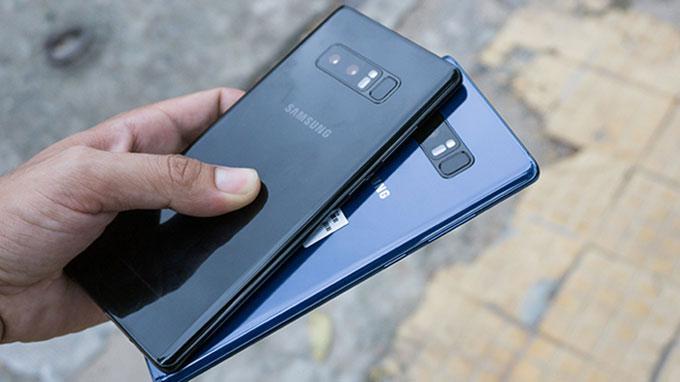 Samsung Galaxy Note 8 Mỹ và Hàn cũ