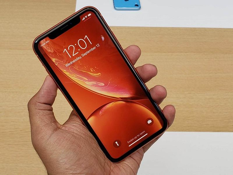 đánh giá màn hình iPhone XR