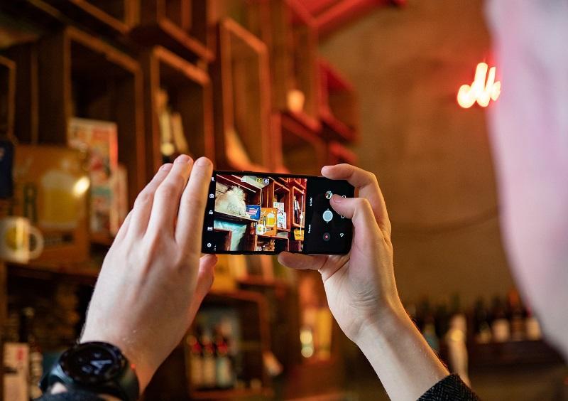 LG G7 ThinQ hình chụp camera sau