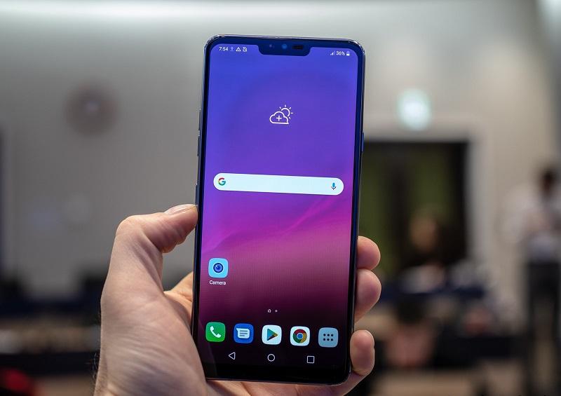 LG G7 ThinQ màn hình