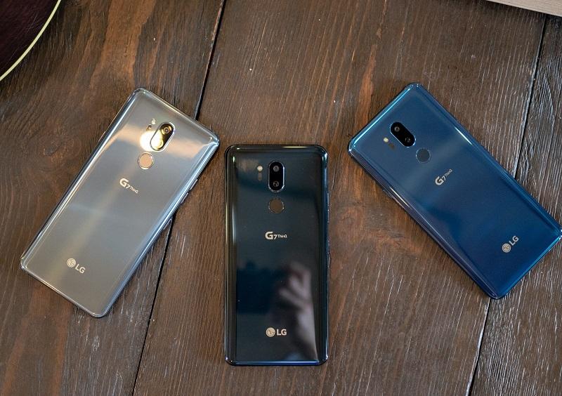 LG G7 ThinQ phiên bản màu