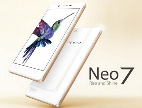 Oppo Neo 7 – Smartphone giá rẻ, thiết kế đẹp, 2 sim tiện lợi
