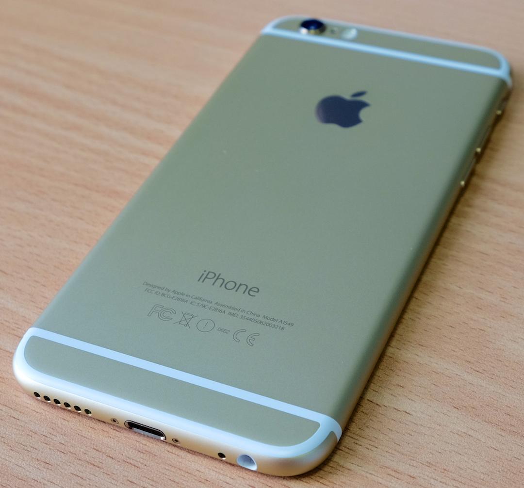 kiểm tra cài đặt iphone 6 cũ