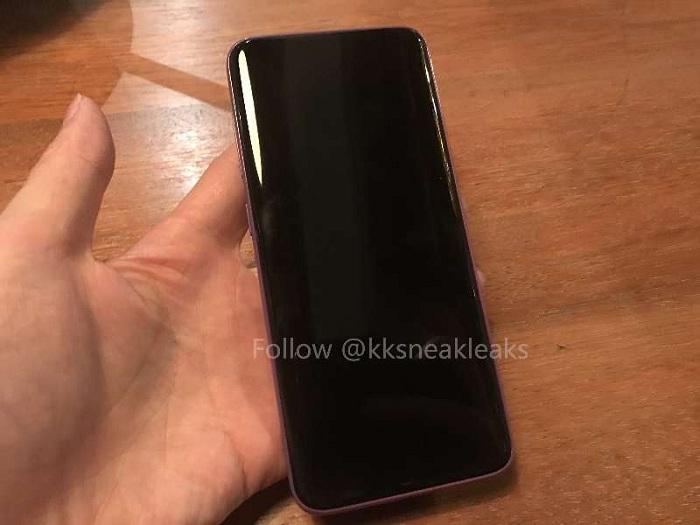 màn hình Galaxy S8 phiên bản màu tím lộ diện cực thu hút