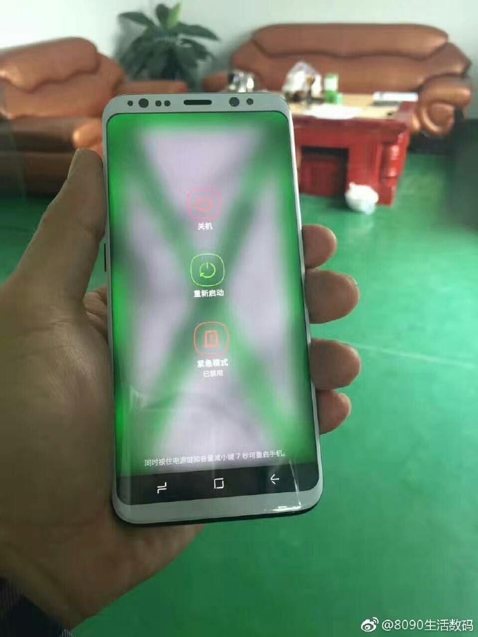 Galaxy S8 phiên bản màu tím lộ diện cực thu hút