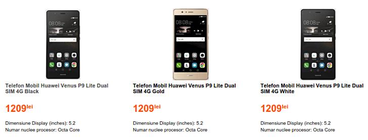 Huawei P9 Lite lộ giá bán tại Châu Âu