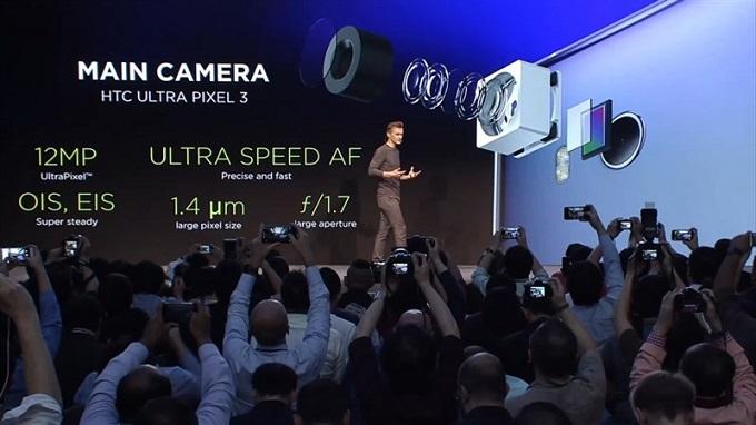 camera HTC U11
