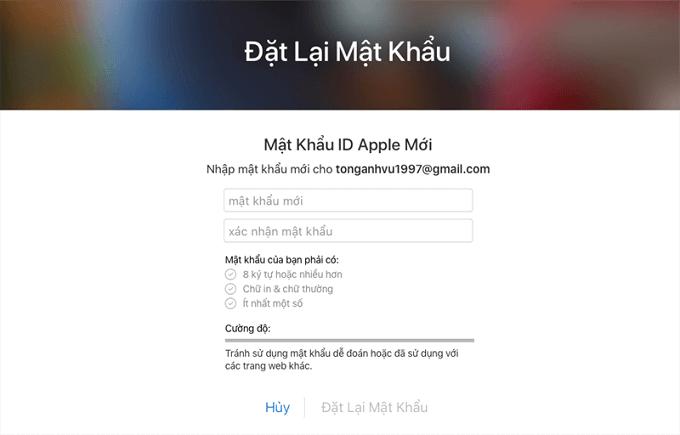 mật khẩu Apple ID 5