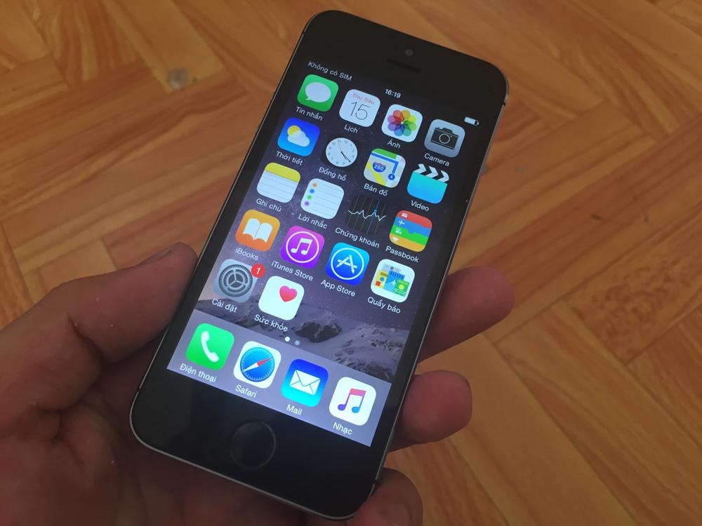 Mua iPhone 5S Lock