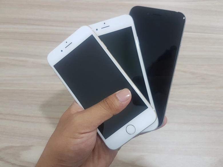kiểm tra màn hình iphone 6 cũ