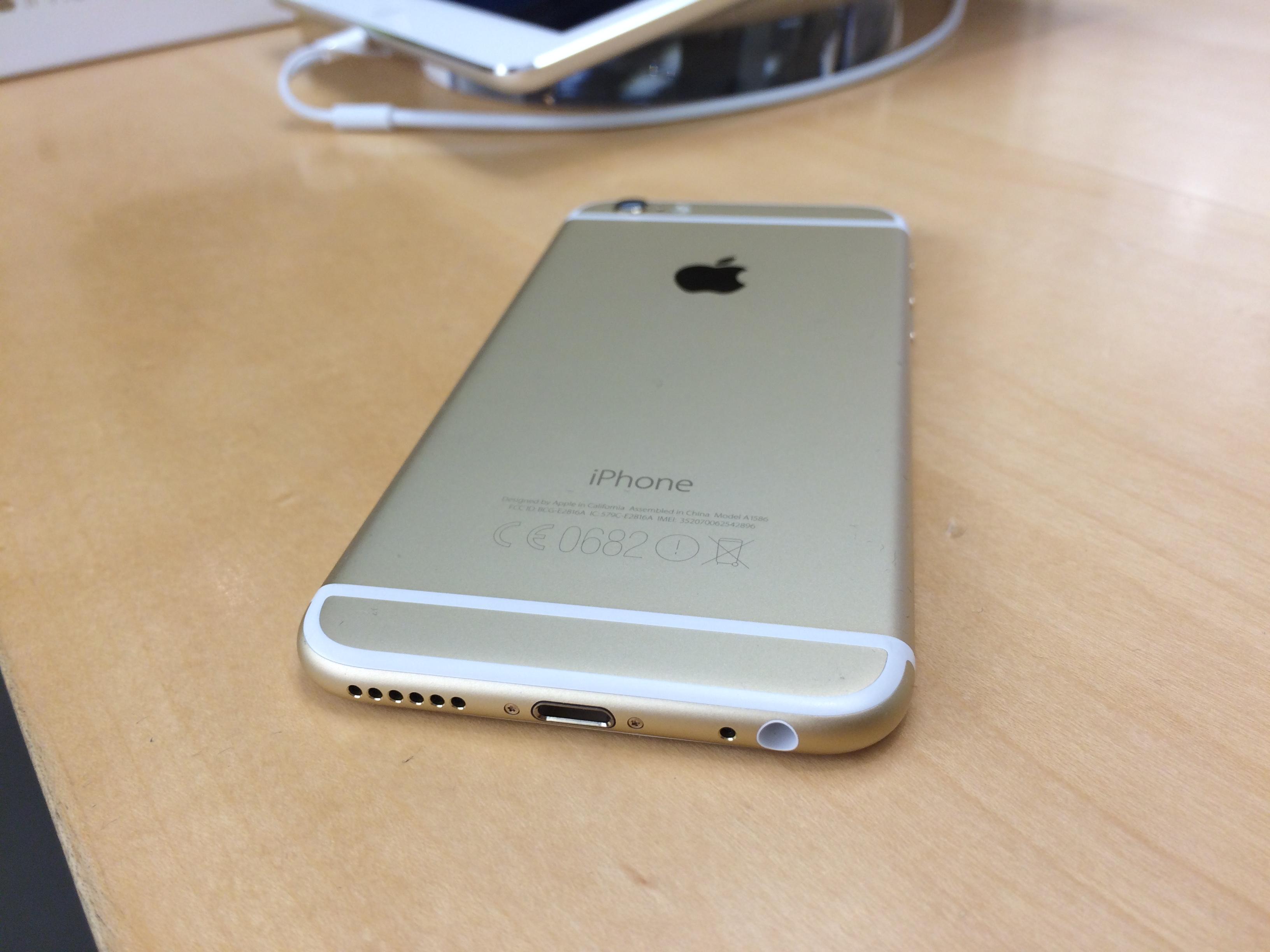 xem thiết kế iphone 6 cũ