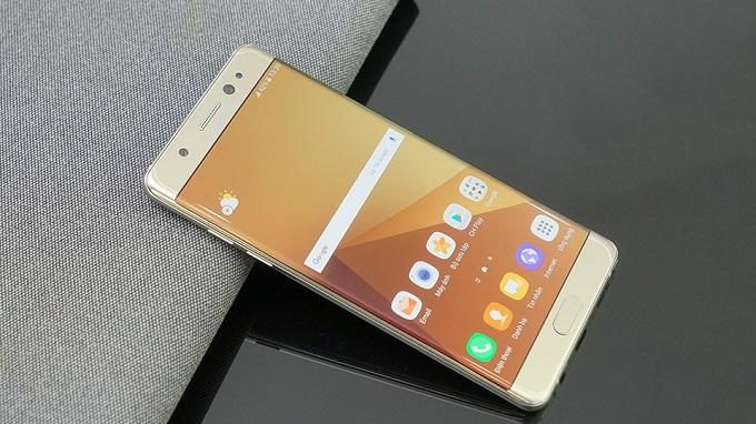 Samsung Galaxy Note 7R giá bán
