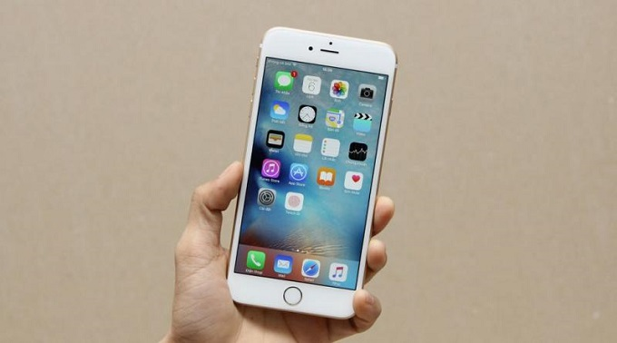 màn hình iPhone 6S chưa active trôi bảo hành