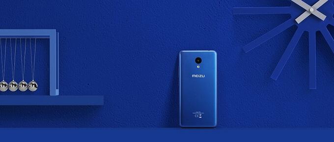 Meizu M5c màu xanh dương