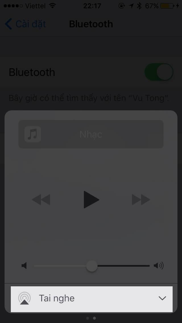 Hướng dẫn sử dụng Bluetooth trên iPhone