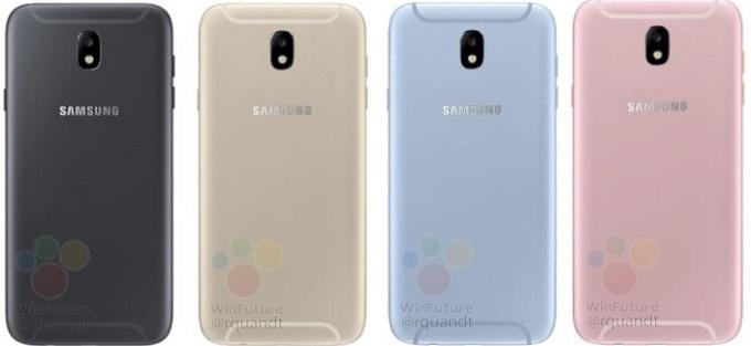 Mặt sau Samsung Galaxy J5 2017