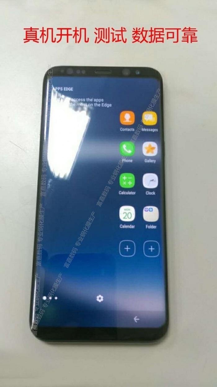 Samsung Galaxy S8 lộ ảnh thực tế với màn hình động