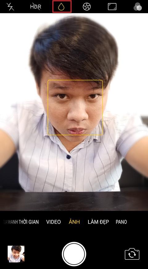 selfie-xoa-phong-tren-oppo-f5-cong-ty-duchuymobile