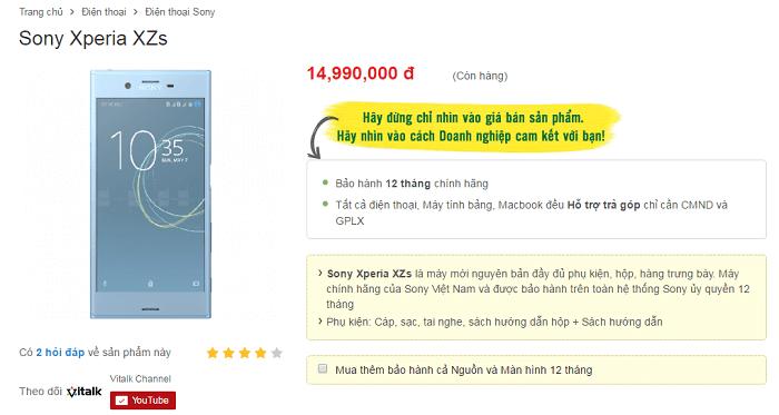 sony-xperia-xzs-gia-bao-nhieu-mua-o-dau-tai-tphcm-duchuymobilecom