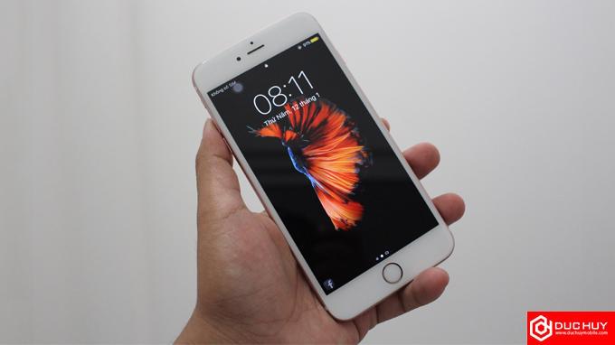 thiết kế iPhone 6S Plus chưa active trôi bảo hành
