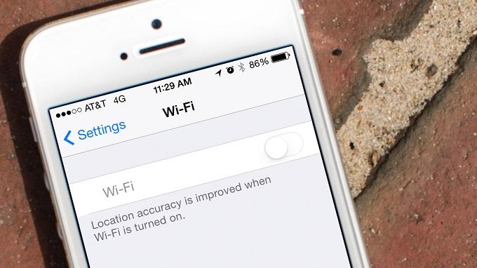 xem lại mật khẩu Wifi trên iPhone