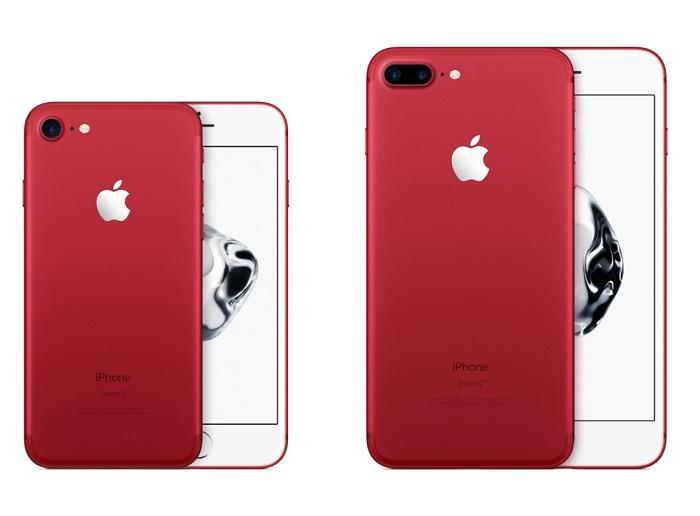 iPhone 7 và iPhone 7 Plus màu đỏ giá