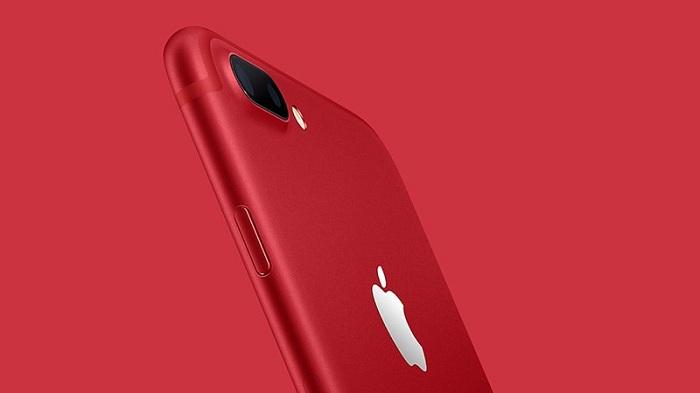 iPhone 7 và iPhone 7 Plus màu đỏ