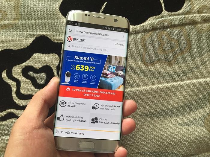Trên tay Samsung Galaxy S7 Edge Hàn Quốc