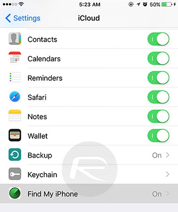 hạ cấp từ iOS.9.2.1 xuống iOS 9.2 1