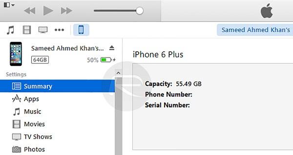 hạ cấp từ iOS.9.2.1 xuống iOS 9.2 3
