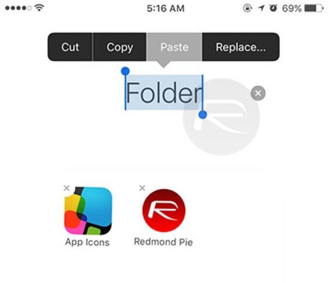 ẩn ứng dụng trên thiết bị chạy iOS 9 3