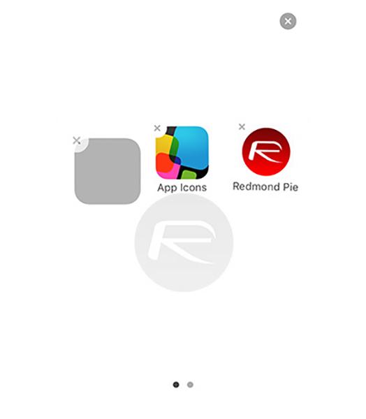 ẩn ứng dụng trên thiết bị chạy iOS 9 6
