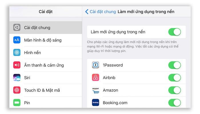 iPhone, iPad bị chậm làm gì