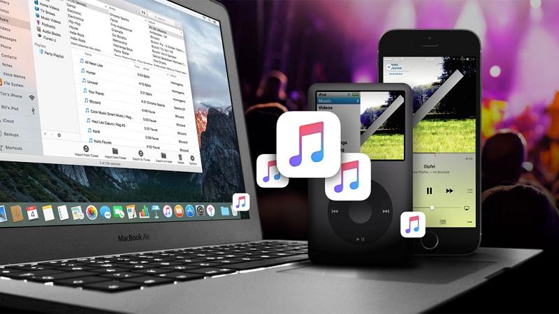 sao chép nhạc từ iPhone sang máy tính