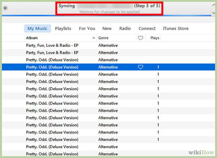 sao chép nhạc từ iPhone sang máy tính 4
