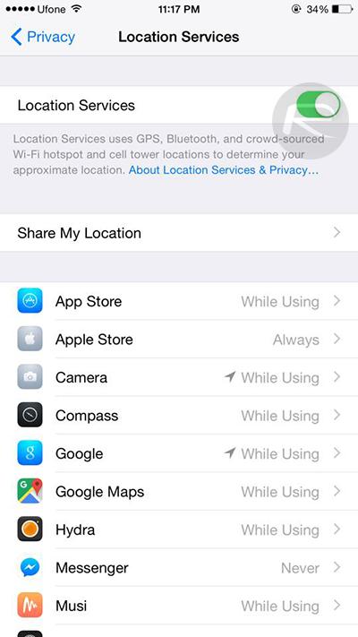 khắc phục các vấn đề về pin trên iOS 9 3