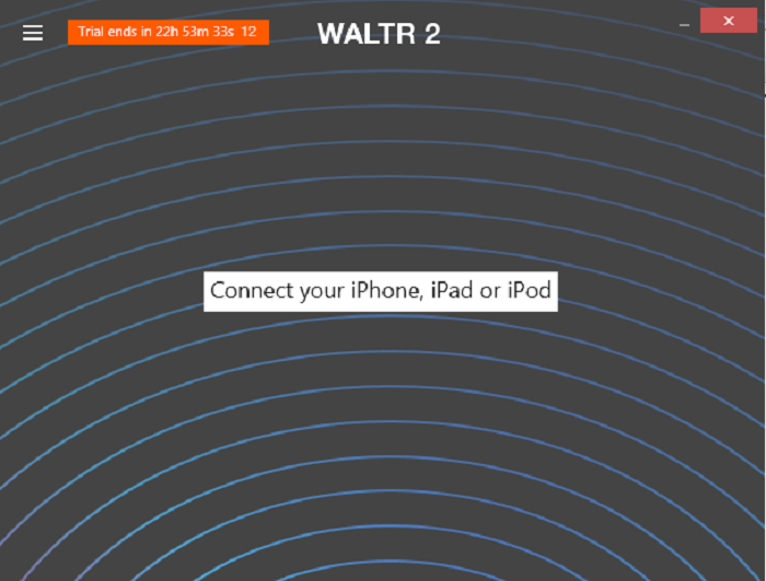 giao diện Waltr 2