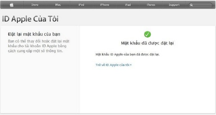 Mẹo lấy lại mật khẩu ID Apple: Bước 6