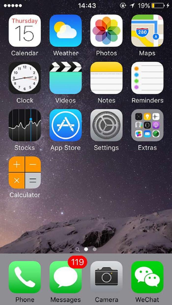 Phóng to mọi thứ trên màn hình iPhone 6